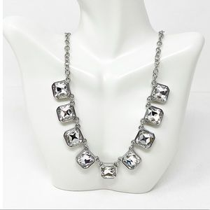 Chloe + Isabel Silver Tone Crystal Necklace